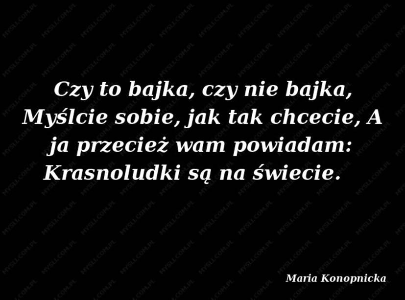Maria Konopnicka Cytaty Szkoła Podstawowa Im Marii